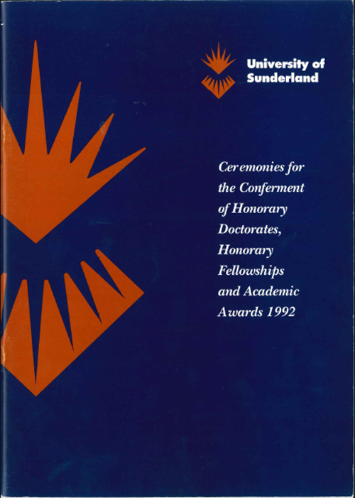 Cover Academic Brochure 1992