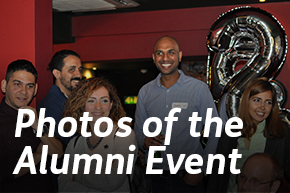 Photos of the alumni event