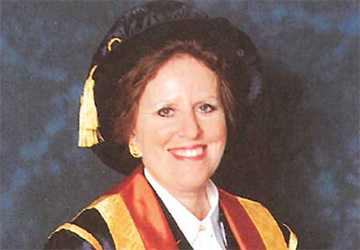Anne Wright Vice-Chancellor 1992