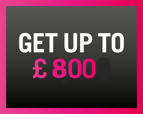 Get up to £800