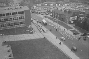 RAG week 1973 - From flat at Wearmouth Hall