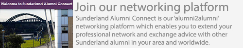Join Sunderland Alumni Connect