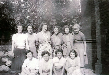 Group of 10 woman at Langham Tower